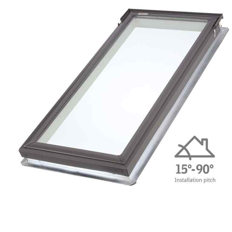 Fixed skylights velux for How to clean velux skylights