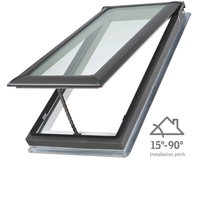 Manually operated skylights velux for Cleaning velux skylights