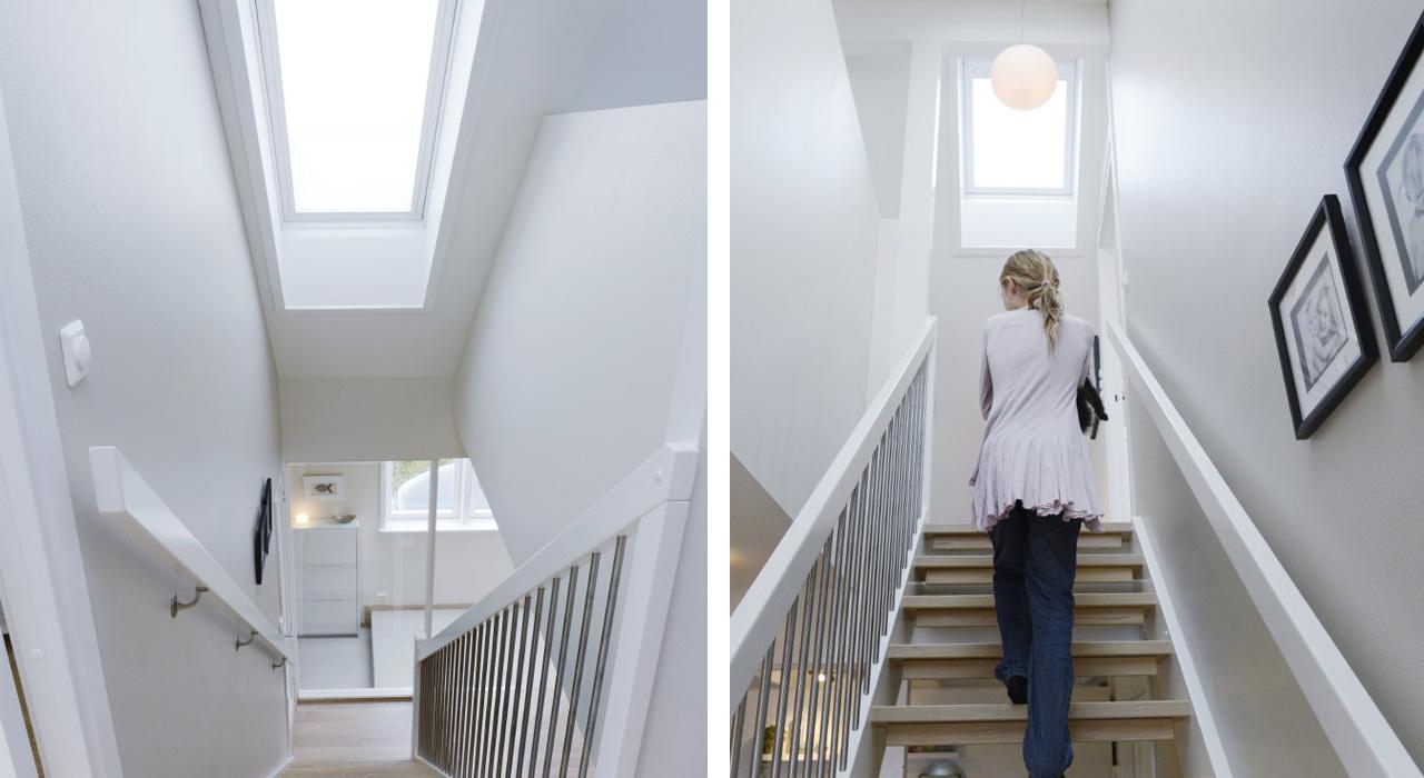 hallway stairwell gallery velux. Black Bedroom Furniture Sets. Home Design Ideas